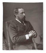 Alfred (1844-1900) Fleece Blanket