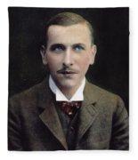 Alfred L Fleece Blanket