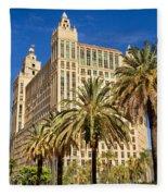 Alhambra Towers - 2 Fleece Blanket