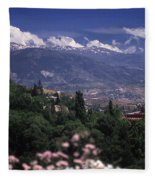 Alhambra View Fleece Blanket