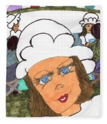 Alice The Waitress Fleece Blanket