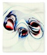 Alien Puppy Fleece Blanket