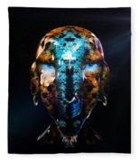 Alien Wise Man Fleece Blanket