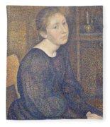 Aline Marechal Fleece Blanket