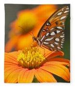 All About Orange 3236 3 Fleece Blanket