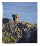 All Along The Watchtower - Bunglass Donegal Ireland Fleece Blanket
