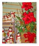 All Good Wishes For Christmas Fleece Blanket