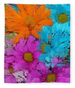All The Flower Petals In This World 2 Fleece Blanket