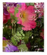 All The Flower Petals In This World 3 Fleece Blanket