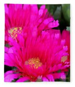 All The Flower Petals In This World 4 Fleece Blanket