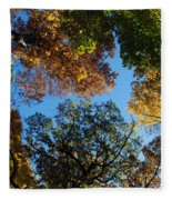 All The Trees Of The Forest Fleece Blanket