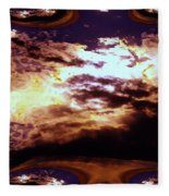 All The Wild Clouds Fleece Blanket