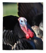 All Turkey Fleece Blanket