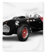 Allard J2x Vintage Sports Car Fleece Blanket