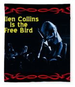 A C  Is The Blue Free Bird Fleece Blanket