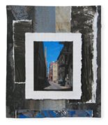 Alley 3rd Ward And Abstract Fleece Blanket