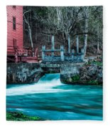 Alley Springs Mill Fleece Blanket