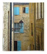 Alleys Of Sarlat II Fleece Blanket