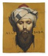Alli Baba Fleece Blanket