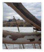 Alligator Branch Fleece Blanket