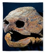 Alligator Snapping Turtle Fleece Blanket