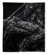 Alligator Tree Fleece Blanket