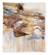 Alligators Fleece Blanket