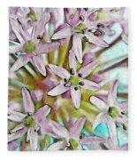 Allium Globe Fleece Blanket
