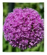 Allium Globe Fleece Blanket