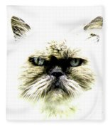 'allo Kitty Fleece Blanket