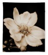 Alluring Anemone Fleece Blanket