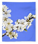 Almond Blossom Fleece Blanket