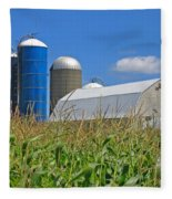 Almost Harvest Time Fleece Blanket