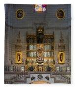 Almudena Cathedral Altar Fleece Blanket