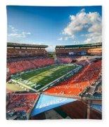 Aloha Stadium #2 Fleece Blanket