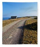 Along The Coast Of Baltic Sea Fleece Blanket