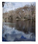 Silver River - Reflections Fleece Blanket