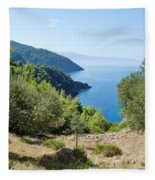Alonissos Island Fleece Blanket