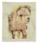 Alpaca Fleece Blanket by Barbara Keith