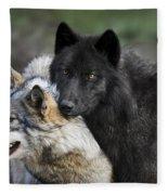 Alpha Couple Fleece Blanket