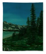 Alpine Garden Fleece Blanket