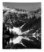 Alpine Lake August 1975 #1 Fleece Blanket