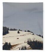 Alpine Pasture Fleece Blanket