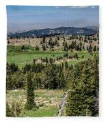 Alpine View Fleece Blanket