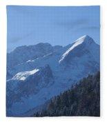 Alpspitze Bavaria 1 Fleece Blanket