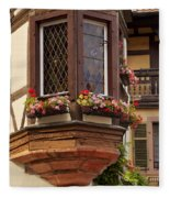 Alsace Window Fleece Blanket