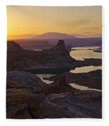 Alstrom Point Sunrise  Fleece Blanket