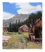 Alta In Colorado Fleece Blanket