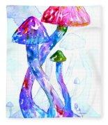 Altered Visions II Fleece Blanket