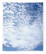 Altocumulus Stratiformis Perlucidus Cloud Fleece Blanket